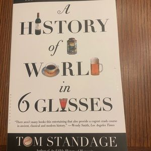 A History if the World in Six Glasses Bestseller